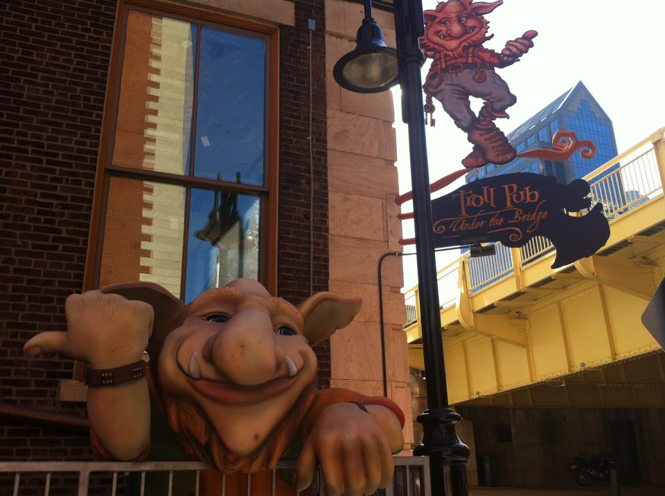 Troll Pub Under The Bridge - Restaurants, Welcome Sites - 150 West Washington Street, Louisville, KY, United States